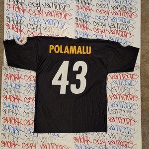Troy Polamalu Pittsburgh Steelers Jersey Large